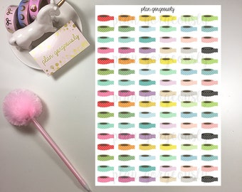 Washi Roll Stickers - Planner Stickers - Washi Stickers - PG023