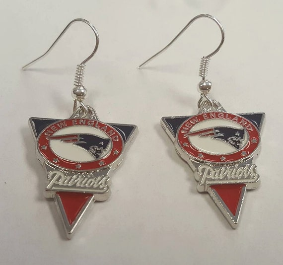 patriots earrings new patriots earrings 3072