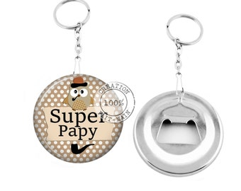 Keychain bottle opener/great grandpa / Christmas gift