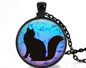 Black Cat - Nature Animal Handmade Pendant Necklace