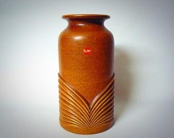 West germany Mid Century vintage Sixties Op-art Fohr vase 337-24
