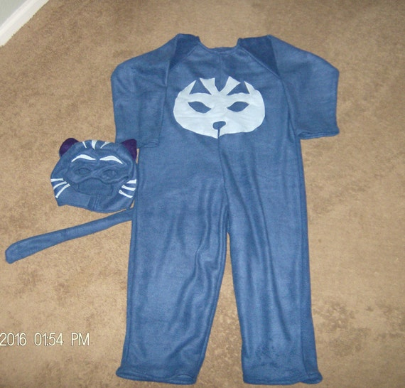 c9f904e24 Diy Catboy Costume & DIY PJ Masks Costume Made With Crafting Felt ...