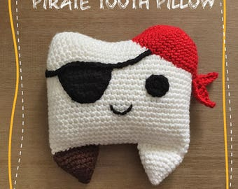 Pirate Tooth Pillow