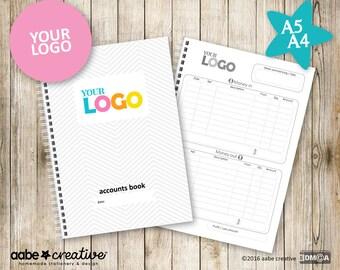 Basic Custom Accounts Book