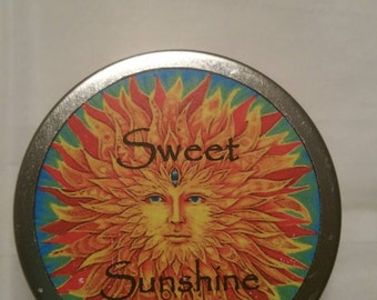 Sweet Sunshine Solid Perfume, Solid Perfume, Perfume, Fragrance, Essential Oils