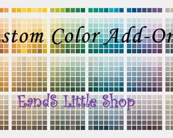 Custom Color Add-On Listing