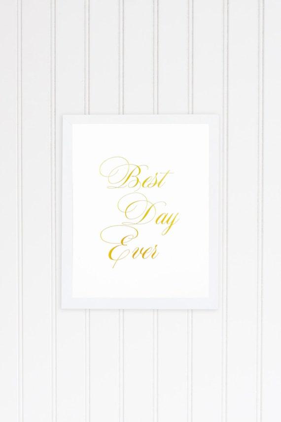 Art Print Wedding Gift : Wedding Gift Print for Couple - Gold Foil Wedding Art Print - Gold ...