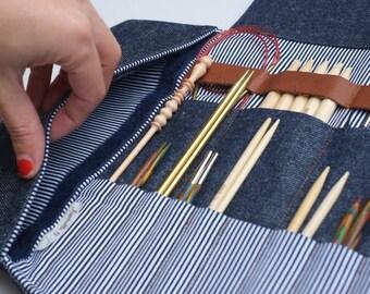 Étui d'Aiguilles, Étui de Tricot, Rangement d'Aiguille à tricoter Circulaires, Rangement crochet
