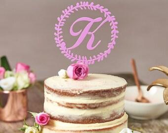 Letter cake topper Etsy