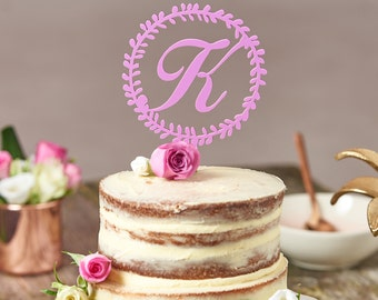 Wedding Cake Toppers Letters Uk : Letter cake topper Etsy