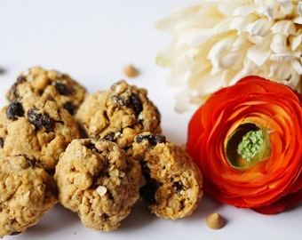 Oatmeal Cookies, Raisin Cookies, Butterscotch Cookies
