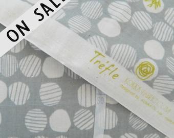 ON SALE  Trefle Textured Dot By Kokka Japan