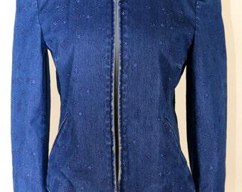Escada Sport Jean Blazer Size 36/Small