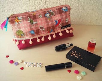 "Trousse à Maquillage ""Alice"""