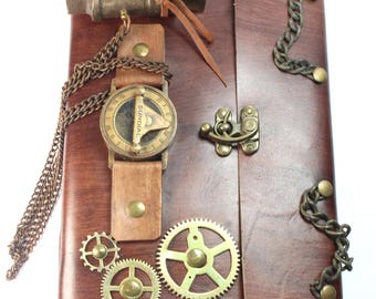 Steampunk Journal Diary, Airship Captain Diary