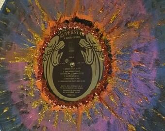 Painted 33 LP Vinyl Record