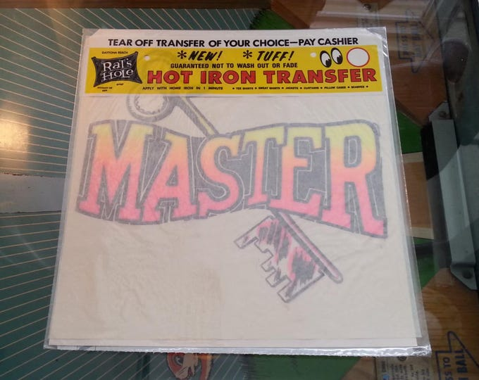 Vintage Iron On Transfer Master