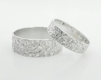 ATITLAN 2.0 wedding rings silver/Silver Weddingrings
