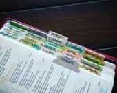 Bible Tabs, Handmade Bible Tabs