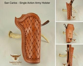 "The ""San Carlos"" - Single Action Holster"