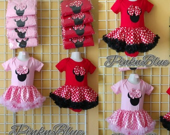 Minnie Mouse tutu onesie