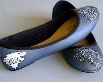 Stark Sigil Shoes