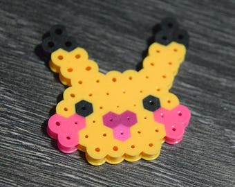 Pikachu Perler Buddy | pixel sprite art | FREE SHIPPING