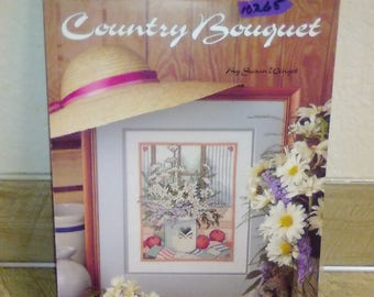 COUNTRY BOUQUET by Susan Winget Cross Stitch Pattern