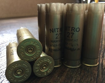 30 Gold Remington Shotgun Shell Hulls