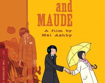 Harold and Maude Keychain Mini Movie Poster 1971 Hal Ashby Criterion Collection