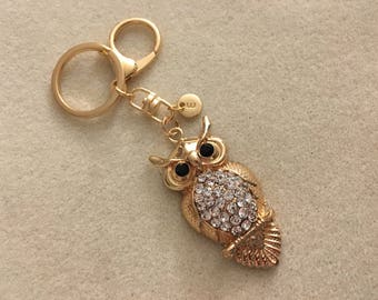 Owl keychain personalized owl gifts owl lover gift owl key chain owl teacher gift ideas for women owl jewelry gift for mom gift for her