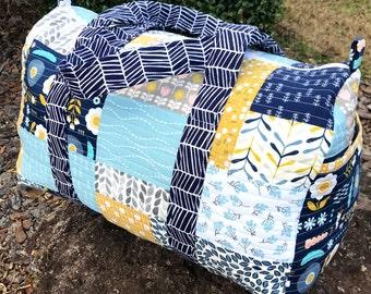 Made to Order Custom Duffel Bag, Duffle Bag, Custom Duffel Bag, Custom Duffle Bag, Quilted Duffle Bag