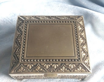 Silver, Square, Jewelry Box