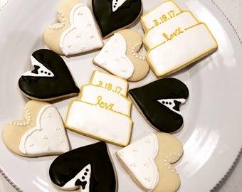 Wedding Cookies (One Dozen)