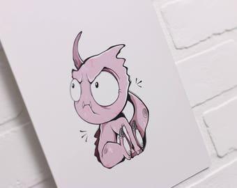 PRINT - Monster 2