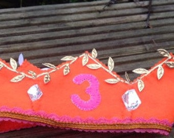 OOAK Birthday crown - made to order