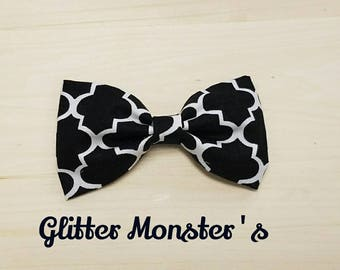 Black and White Bow Tie, Infant-Adult Bow Tie, Mens Ties, Boys Tie, Bow Ties, Mens Bow Ties, Boys Bow Tie, Wedding Ties,  Bowtie,Clip On Tie