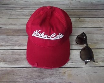 Fallout Nuka Cola Hat Embroidery Cool .