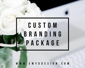 Custom Branding Design || 4-Piece Package, Logo, Brand Logo, Branding Package, Branding Design || EMYDDESIGN