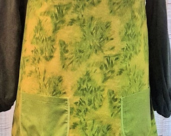 Smock - Adult - Green on Green