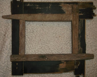 5x7 rustic frames reused repurposed upcycled portrait frames