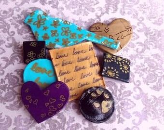 Love and Bird Magnet Bundle