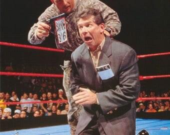 Wrestling WWF Stone Cold  Steve Austin Bang  Poster