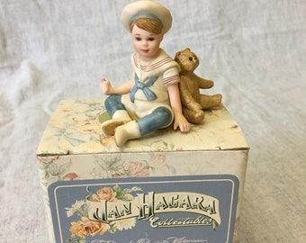 Vintage Jan Hagara Limited Edition Figurine, Baby Lee S20616