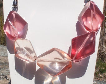 Wilma Sculptural Resin Necklace