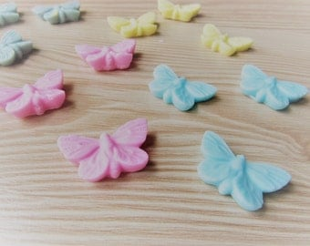 90 Butterfly baby shower,butterfly first birthday,butterfly favors,butterfly soap,soap favors,baby soap,baptism favors,christening favors