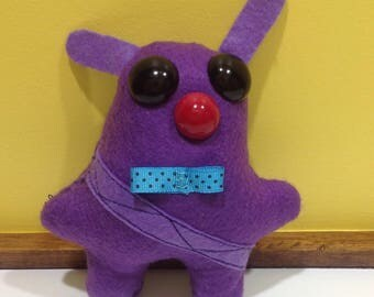 Miggui - cute, quirky, handmade soft toy / plushie