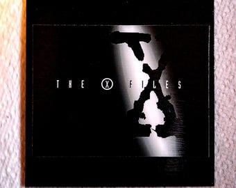 X-Files Magnet/X-Files Fridge Magnet/Black X-Files Magnet/X-Files Office Magnet/Gift for X-Files Fan/X-Files Vinyl Magnet/Office Magnet