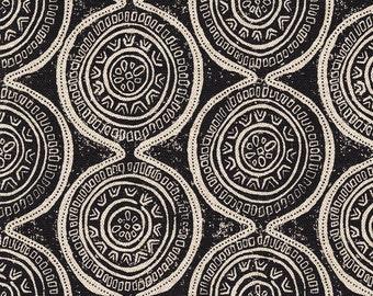 Decorative Pillow Atlas Geometric Granite Black