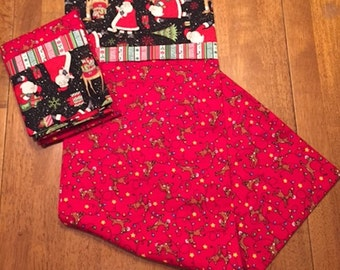 Handmade Christmas Pillow Cases - Set of Two